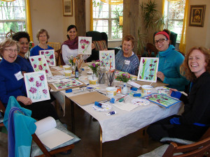 "Women's retreat, ""I can paint!"""